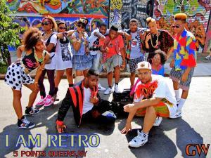 I AM RETRO.. group shot